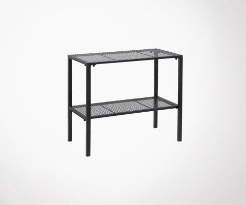 Table d'appoint design métal grillagé WIRE - Nordal
