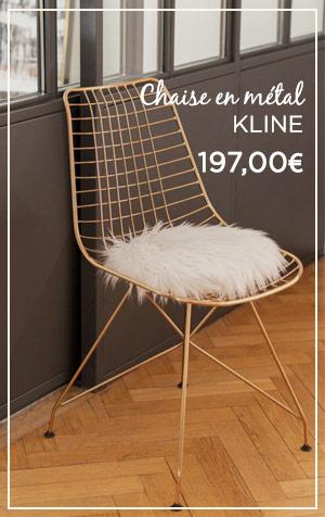 Chaise KLINE