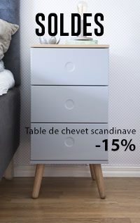 table de chevet ZINO