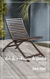 chaise de jardin COLI