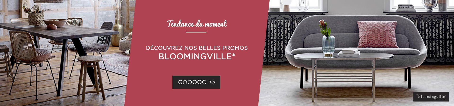 Craquez pour la marque Bloomingville : mobilier de qualité, hyper tendance. -10% cette semaine