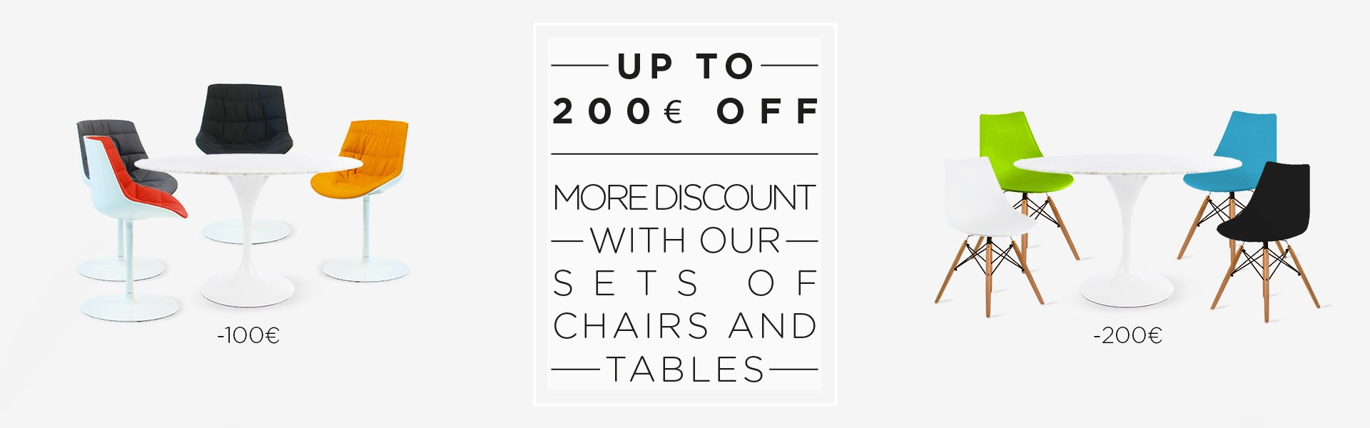 discount set of chairs