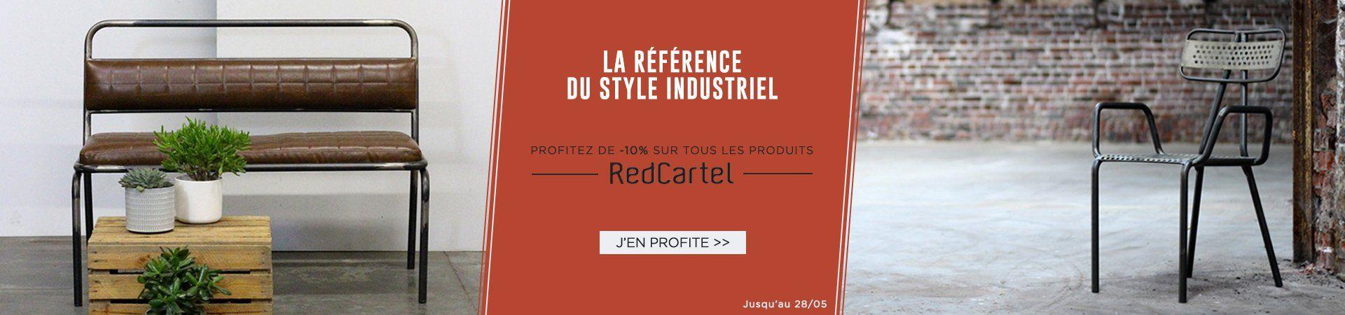 La marque The Red Cartel en promo cette semaine