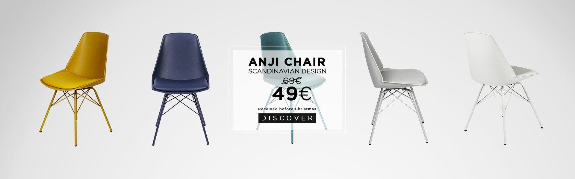 anji chair christmas shipping