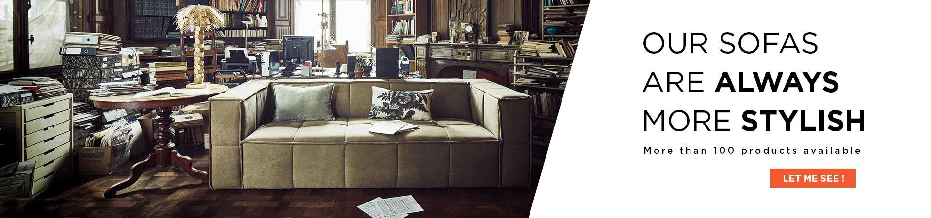 design sofa range
