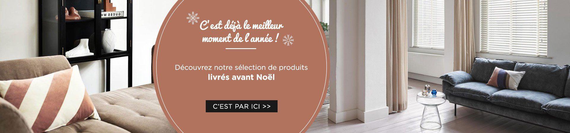 Faites vous plaisir avec notre sélection de produits livrés avant Noel