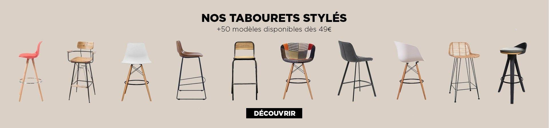 encart selection tabourets bar meubles et design