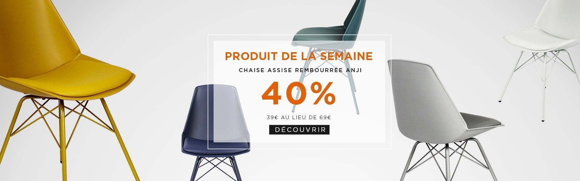 promotion chaise anji