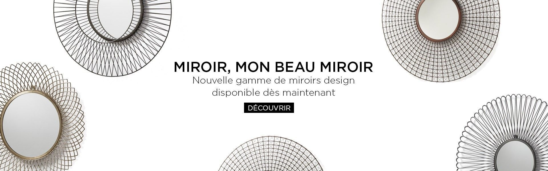 gamme de miroir