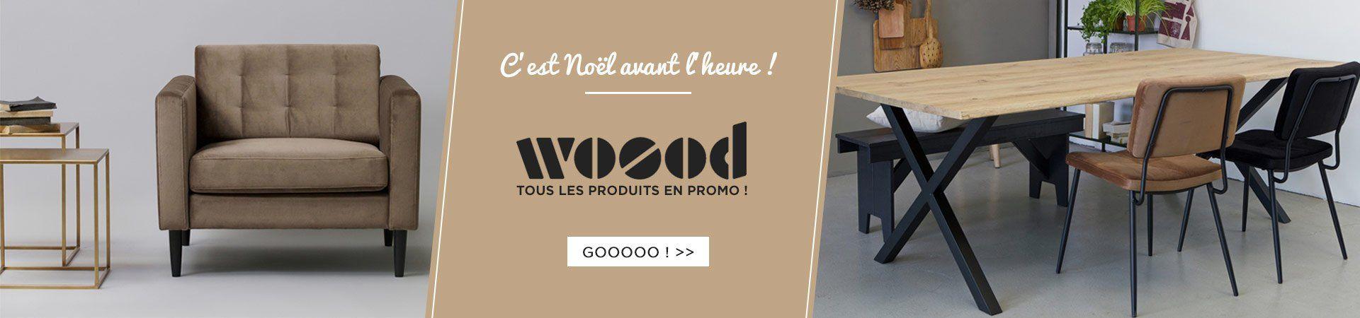 Profitez de 10% de réduction sur les produits Woood