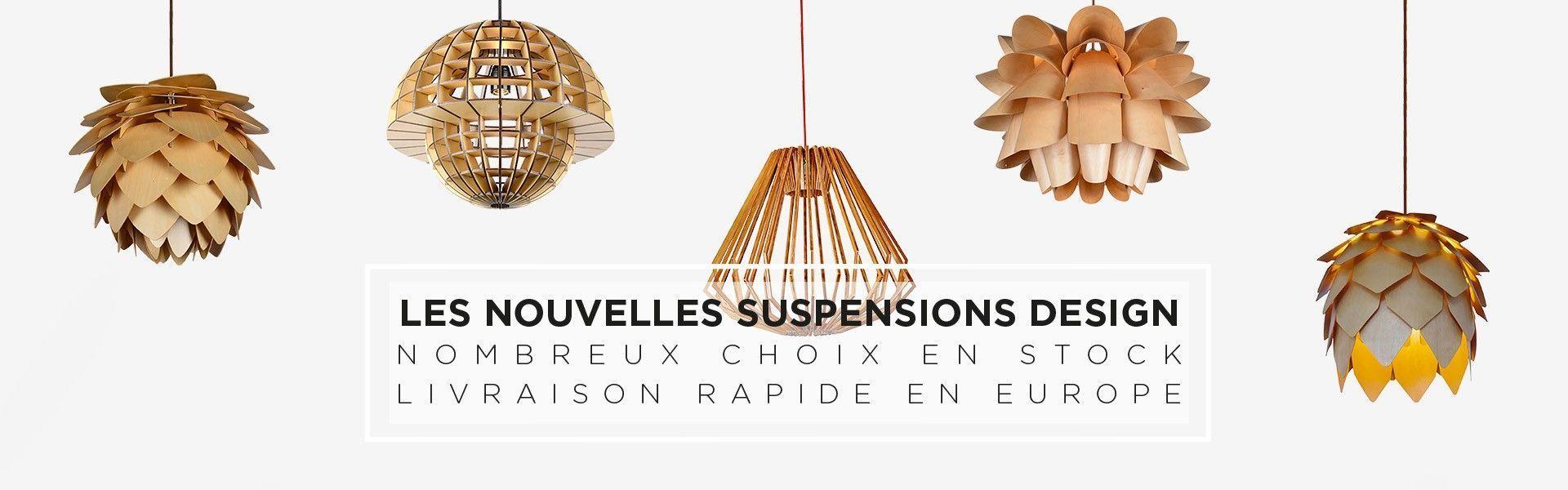 nouvelles lampes suspendues