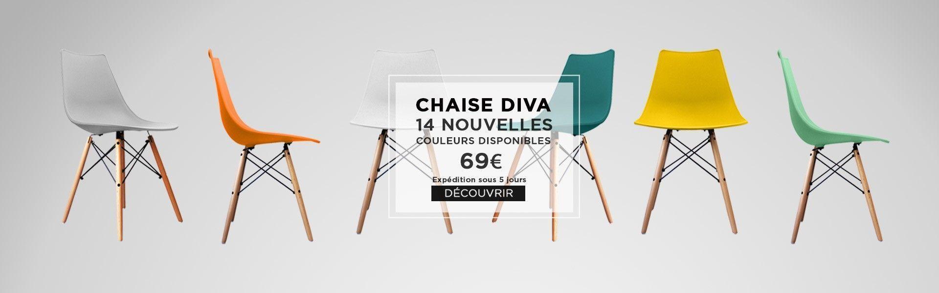 nouvelles chaises diva