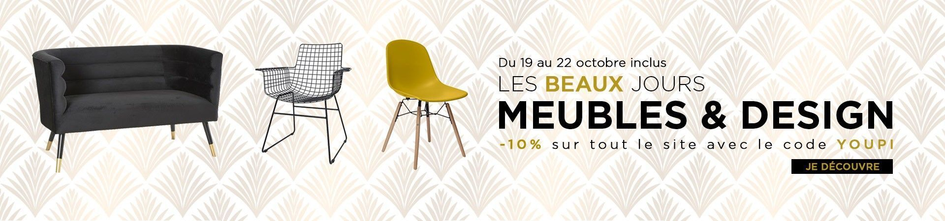 remise 10 pourcent weekend meubles design