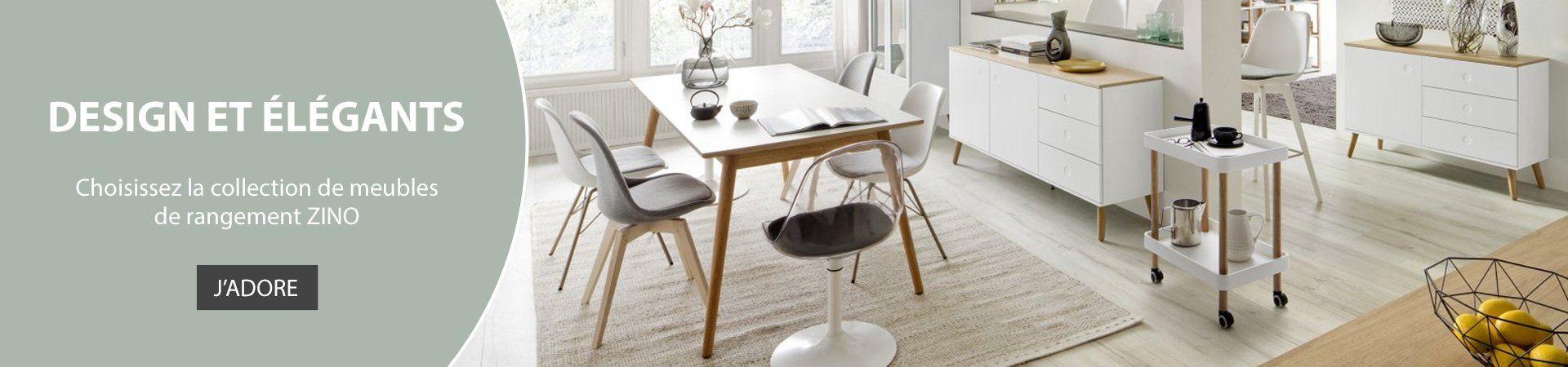 L'élégance des pays nordiques, découvrez les meubles de rangement ZINO