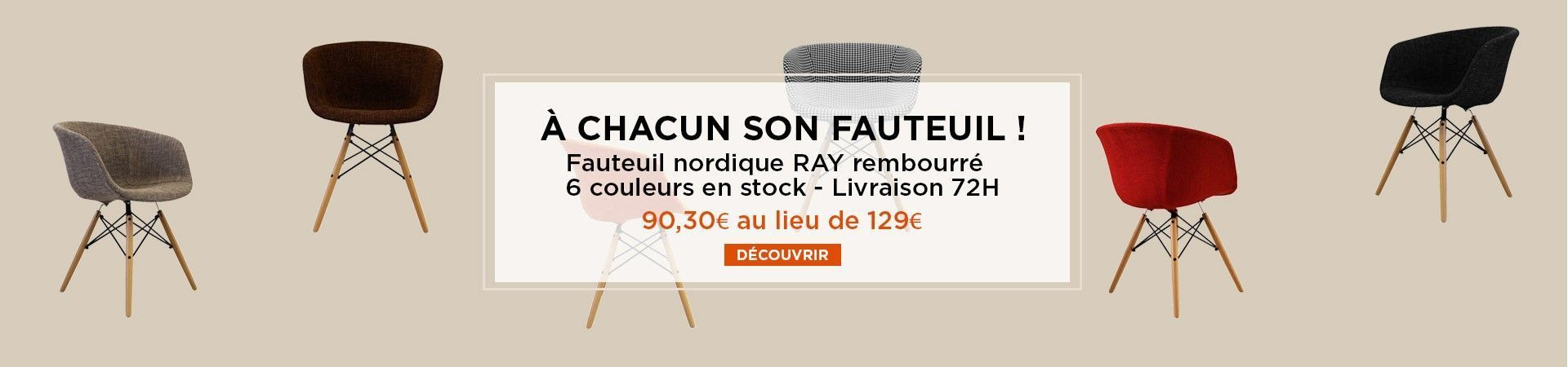 fauteuil ray promotion